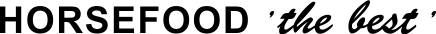 logo horsefood tekst