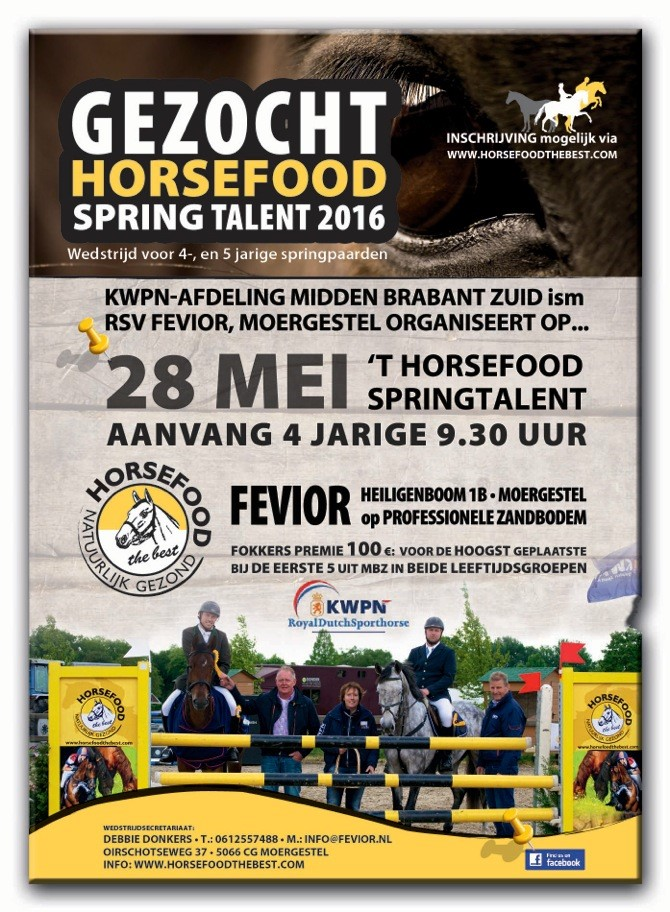 Horsefood Spring Talent DEF