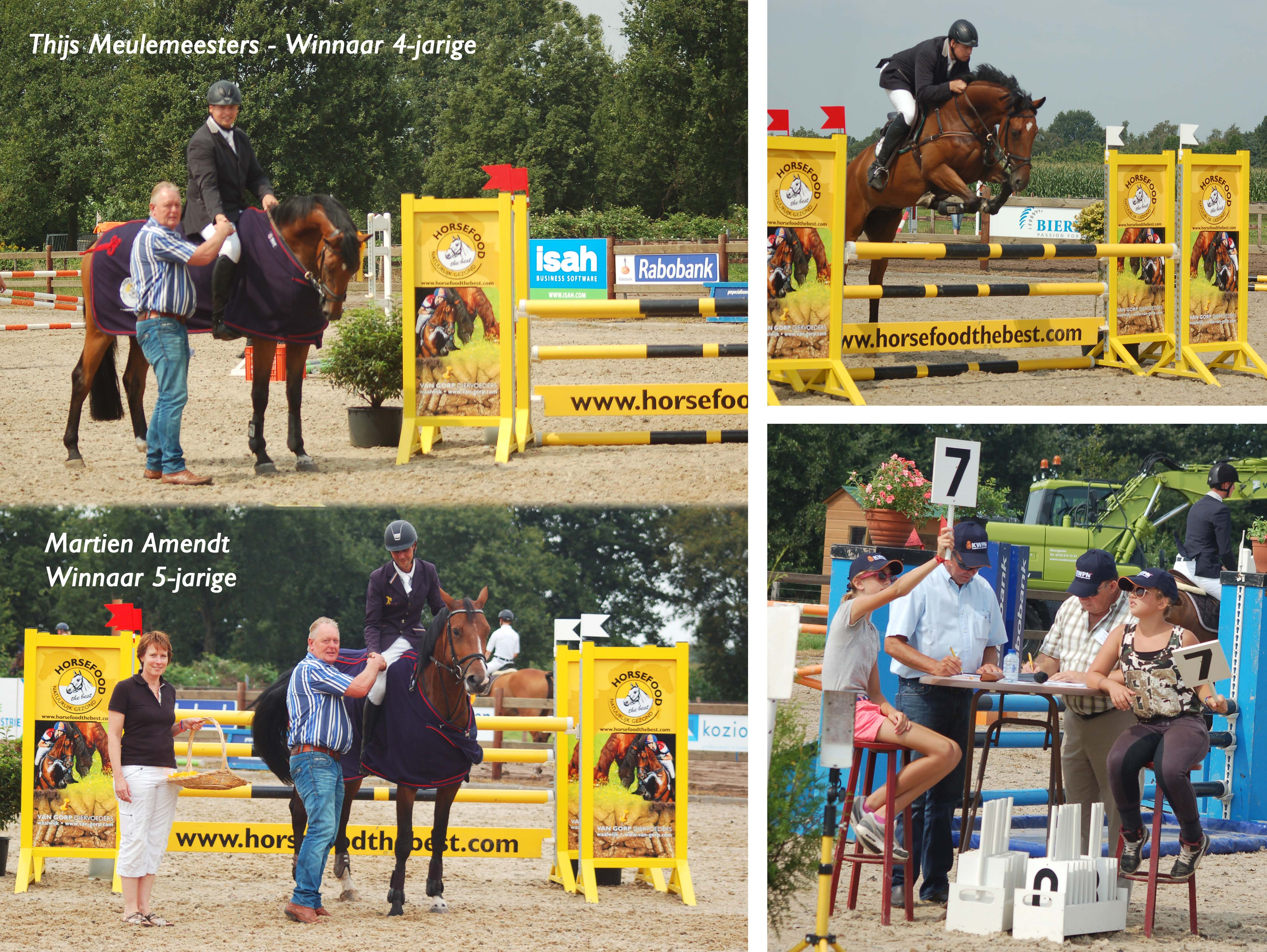 Winnaars Horsefood Spring Talent 2014